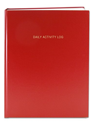 BookFactory Daily Activity Log Book / 365 Day Log Book (384 Pages - 8 7/8