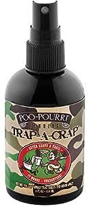 Poo-Pourri Before-You-Go Toilet Spray 4-Ounce Bottle, Trap-A-Crap