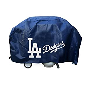 MLB Los Angeles Dodgers LA Logo Deluxe Grill Cover by Rico