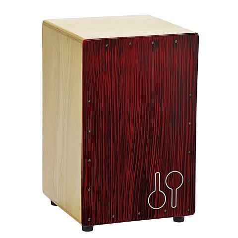 sonor-cajon-mosquito-red-black-caj-rbs-stripes