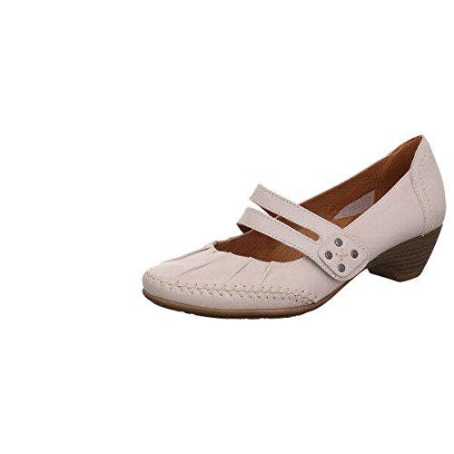 Jana 8-8-24311-26-109, Scarpe col tacco donna Bianco Bianco-grigio