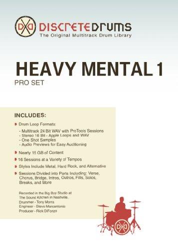 Sonoma Wire Works Ddhm1Pro Discrete Drums Heavy Mental 1 Pro Set