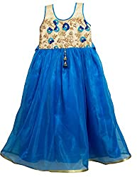 Hi Kidoo Girls' Pleated Dress (7-8 Years)