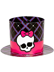 Monster High Paper Party Hats - 8 ct by Amscan