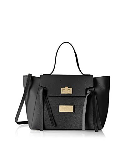 Valentino Bags by Mario Valentino Women's Camilla Satchel, Black As You See