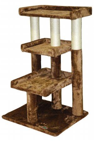 Go Pet Club Cat Tree Furniture, 35-Inch, Brown Go Pet Club B00NJF71GY