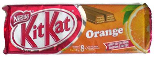 Kit Kat Orange Chocolate 8x2 Finger Limited Edition (Pack of 2)