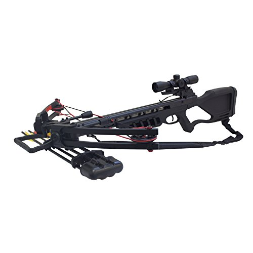 SAS Crusher 175 Crossbow 4×32 Scope Package
