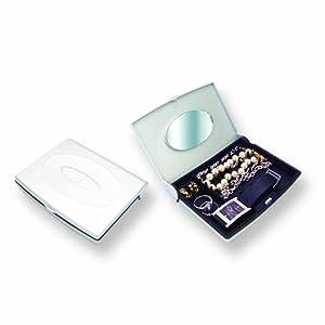 Silver Mini-Smart Jewelry Case