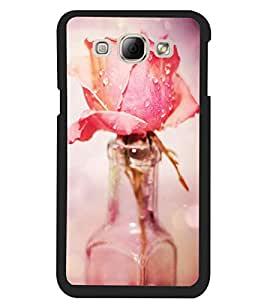ColourCraft Love Rose Design Back Case Cover for SAMSUNG GALAXY A8