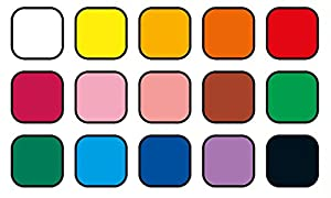 Jovi Plastilina Reusable and Non-Drying Modeling Clay; 1.75 oz. Bars, Set of 30, 2 Each of 15 Colors, Perfect for Arts and Crafts Projects (Color: Multicolor, Tamaño: Set of 30)