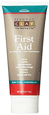 Redmond First Aid, Hydrated Clay, 4 Ounce by Redmond