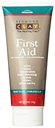Redmond First Aid, Hydrated Clay, 4 Ounce