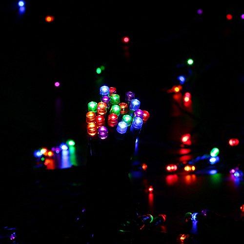 LederTEK Battery Operated String Lights 200 LED 52.5ft