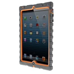 Amazon.com: iPad mini - Shockdrop - Rugged Case - Sports Series - Grey