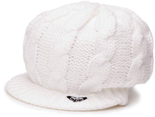 Roxy - Berretto, donna, Bianco (White), Taglia unica