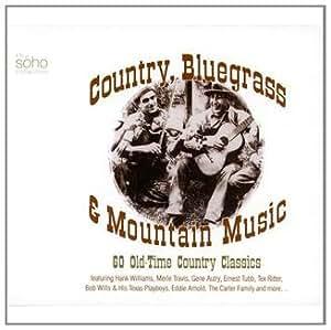 Country Bluegrass & Mountain Music (Coffret 3 CD)
