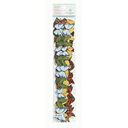 Martha Stewart Crafts Die-Cut Adhesive Borders, Butterfly