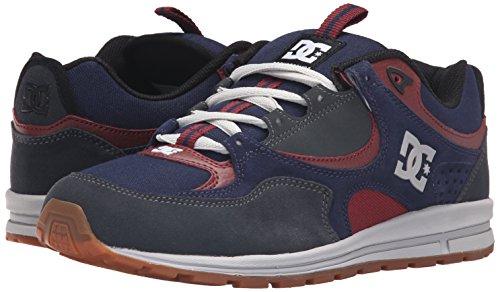 DC Men's Kalis Lite M Skate Shoe, Navy/Grey, 10.5 M US