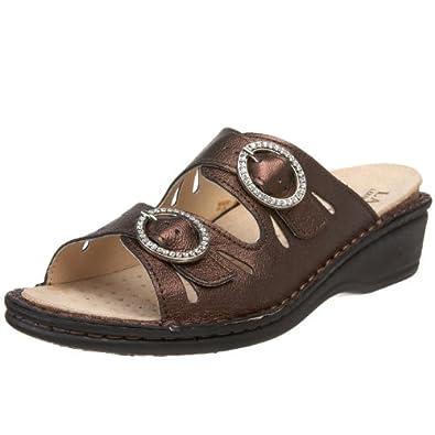 Amazon.com: La Plume Women's Amalfi Sandal: Shoes