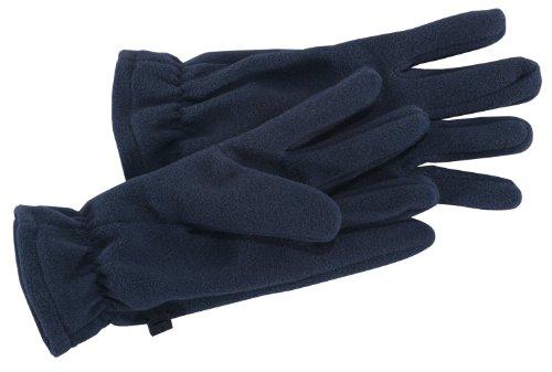 Fleece Gloves, Color: Navy, Size: L/Xl