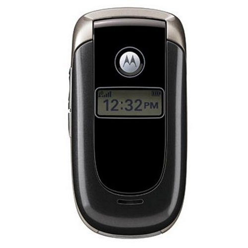 Motorola V197 Unlocked Phone with Quad-Band GSM and Bluetooth--International Version (Charcoal)