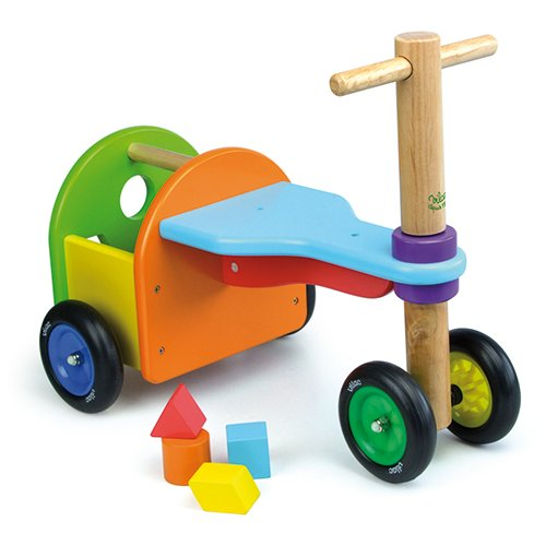 Vilac Rainbow Tricycle Toy