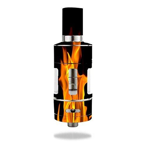 Aspire Atlantis Vape E-Cig Mod Box Vinyl DECAL STICKER Skin Wrap / On Fire Hot Burn Burning Flame (Atlantis Vaporizer compare prices)