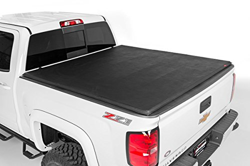 Rough Country - 44582600 - Soft Tri-Fold Tonneau Bed Cover (6-foot Bed) (Rough Country Ranger compare prices)