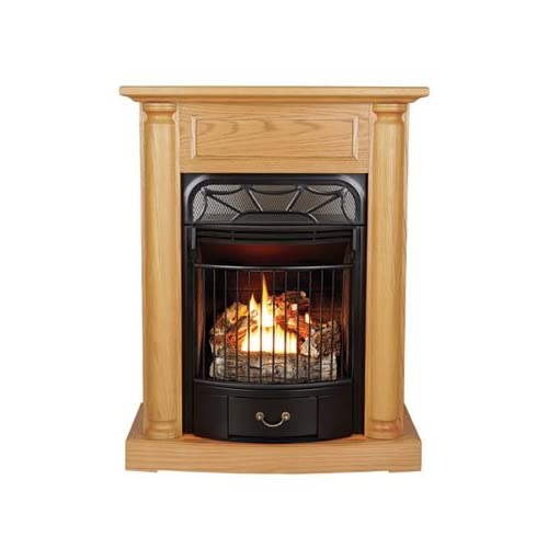 almond ventless gas fireplace lp