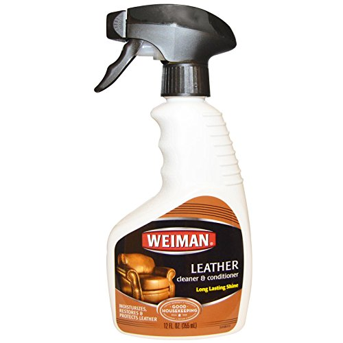 Weiman 12oz Leather Cleaner Conditioner Trigger 3 Pack Dealtrend