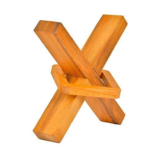 BRAIN GAMES Perplexing X in a Box (Small) (Draw Wood compare prices)