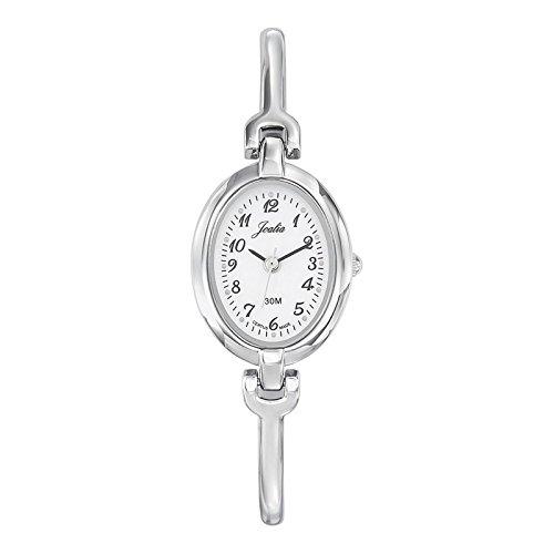 Joalia-633300-Orologio da donna con cinturino in metallo con quadrante, colore: argento