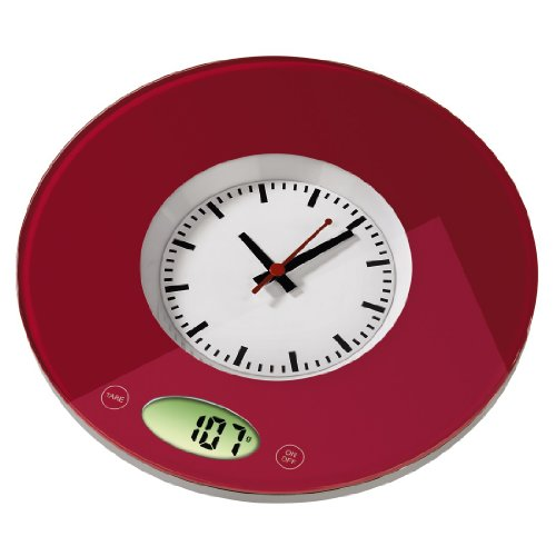 Xavax Hama Balance Cuisine/Clock Pauline Rouge