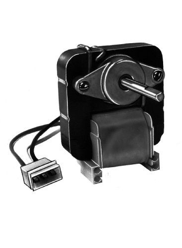 Fasco K120 C Frame Open K Line Shaded Pole Oem Replacement Electric Motor With Sleeve Bearing, 1/200Hp, 3000Rpm, 115Vac, 60Hz, 0.50-0.29 Amps, For Ductless Rangehood