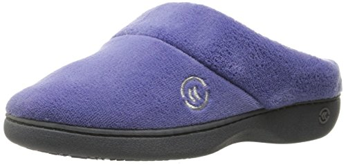 isotoner-womens-classic-mixed-microterry-hoodback-slippers-deep-periwinkle-x-large-95-10-m-us