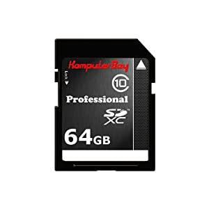 Komputerbay 64GB SDXC High Speed Class 10 Memory Card 15MB/s Write 20MB/s Read 64 GB