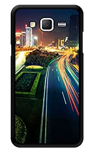"""Humor Gang Fast City Life Printed Designer Mobile Back Cover For """"Samsung Galaxy Grand 2"""" (3D, Glossy, Premium Quality Snap On Case)"""