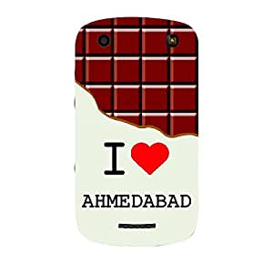 Skin4gadgets I love Ahmedabad - Chocolate Pattern Phone Skin for CURVE 9360