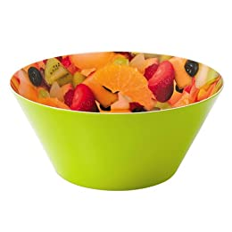 Product Image Melamine Fruit Bowl - Green