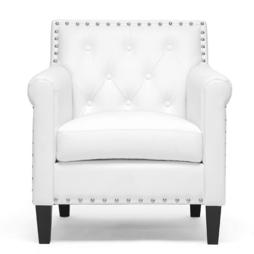 White Wood Chair front-1071145