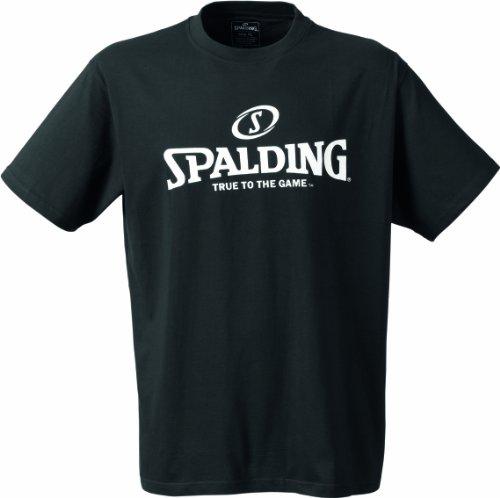 Spalding, Basketball Logo T-shirt, Nero (schwarz), L