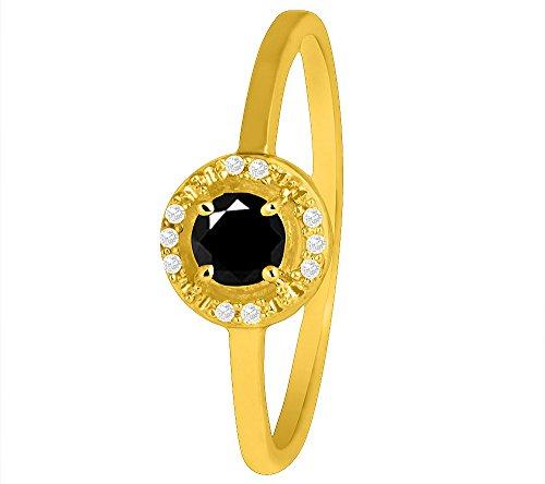 silber-92ct-925-rund-diamant-schwarz-onex-ring-mit-gelbgold-uberzug-003-ct-diamant-025-ct-schwarz-on