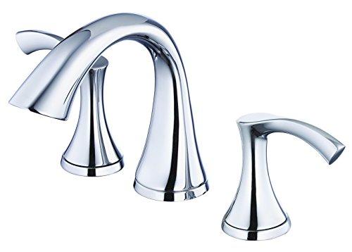 Danze D304122 Antioch Two Handle Mini-Widespread Lavatory Faucet, Chrome (Mini Shower Faucet compare prices)