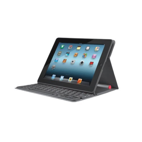 LOGICOOL ソーラーキーボードフォリオ For iPad TK810CB