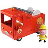 Peppa Pig Vehicle with Figure - Fire Engine