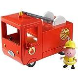 Peppa Pig Vehicle with Figure - Fire Engine