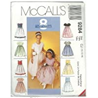 Vintage McCall's 9284 Sewing Pattern Girls 8 Dresses Size 10-14