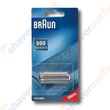 Braun 5S 5609, 370/575 PocketGo Foil & Frame (Electric Shaver Women Braun compare prices)