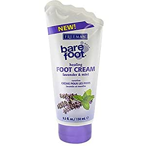 Freeman Bare Foot Cream Lavender & Mint 5.3 oz. (Pack of 6)